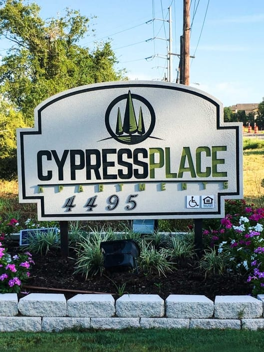 Cypress Place sign